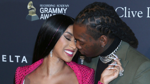 Cardi B & Offset Looked Like a Royal Couple at the Grammys & We Almost Missed It | StyleCaster