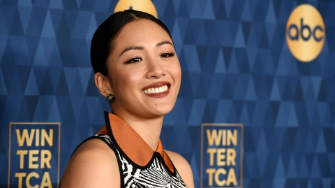 Constance Wu Just Took the Zebra Print Trend to a Whole New Level | StyleCaster