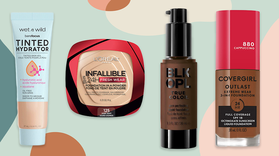 A Running List of the Best Drugstore Foundations That 2021 Has to Offer