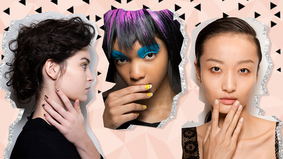 Geometric Nail Art is the 2020 Trend We Didn't See Coming