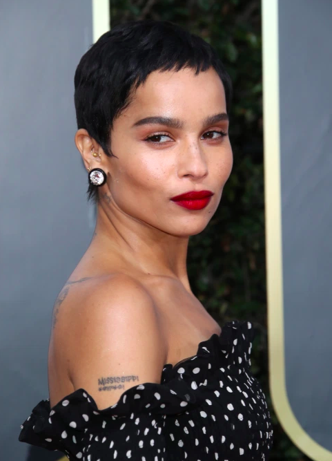 golden globes 2020 zoe kravitz