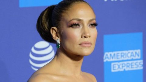 Jennifer Lopez Has Blessed Us With Gorgeous Spring Dress Vibes in the Middle of Winter   StyleCaster