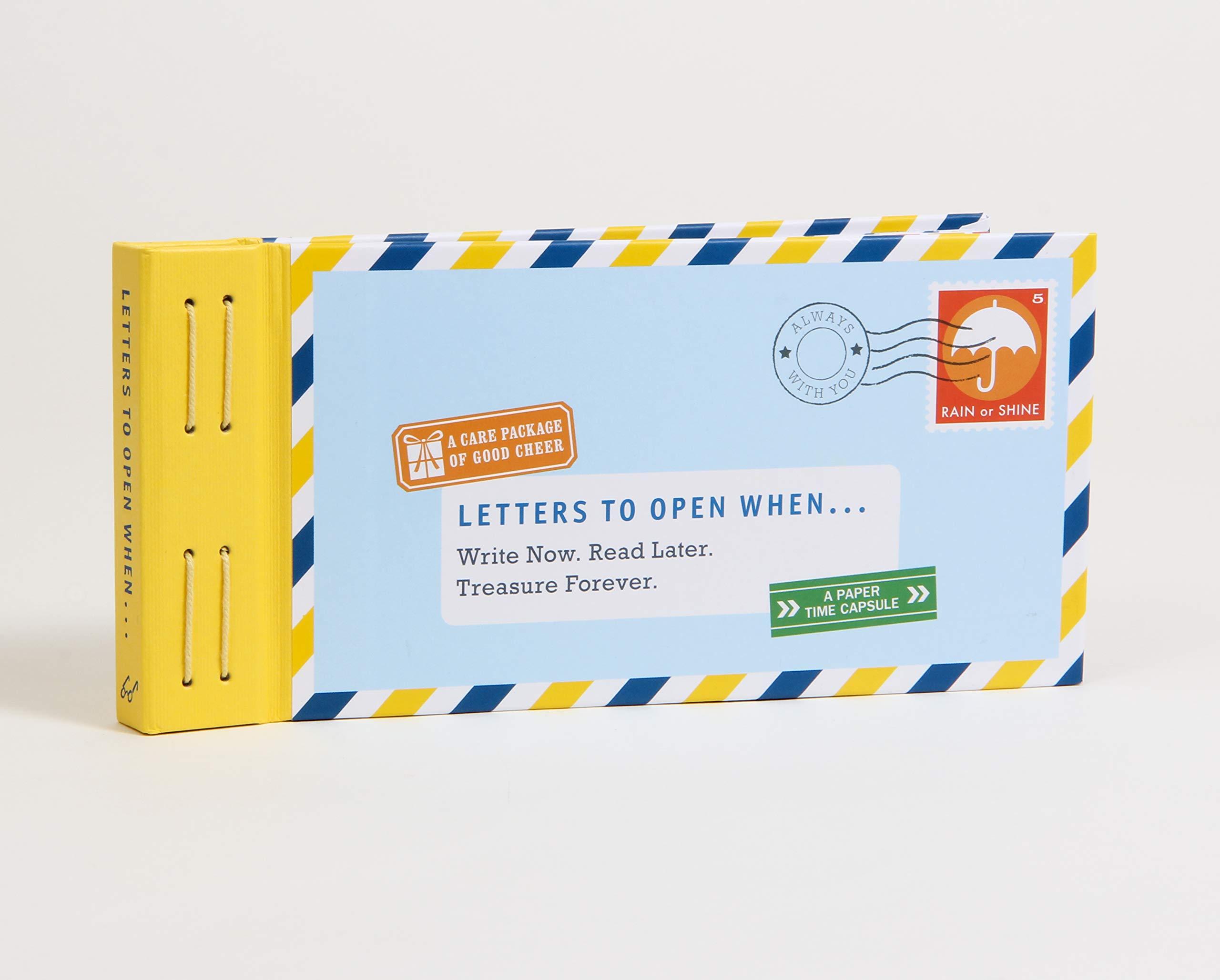 lettres à ouvrir lorsque des idées de cadeaux pour la Saint-Valentin sans fromage pour les couples longue distance