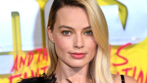 Margot Robbie Wore the Most Unexpected Accessory at the 'Birds of Prey' London Premiere | StyleCaster