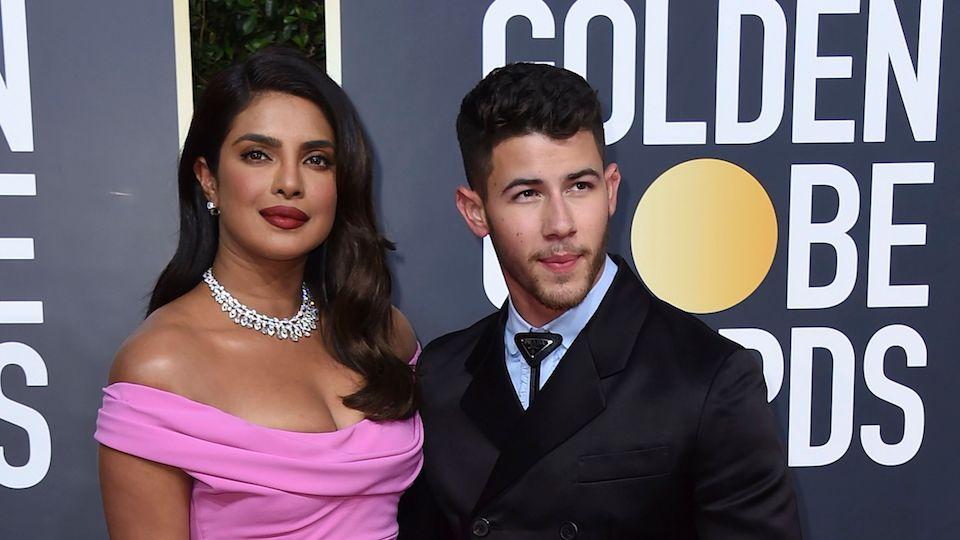 Nick Jonas and Priyanka Chopra Look Like Actual Royals at the Golden Globes