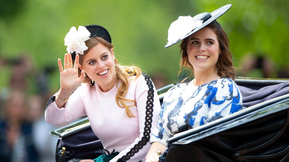 Princess Beatrice & Eugenie