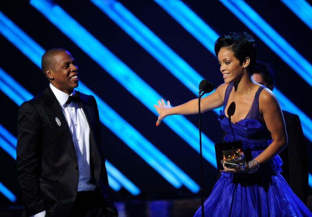 Rihanna & Jay-Z Grammys