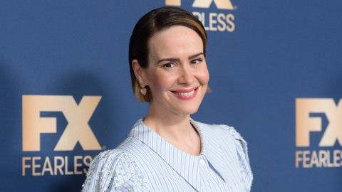 Sarah Paulson Looks Like a Chic Little Bo-Peep In This Outfit, and I'm Kinda Into It   StyleCaster