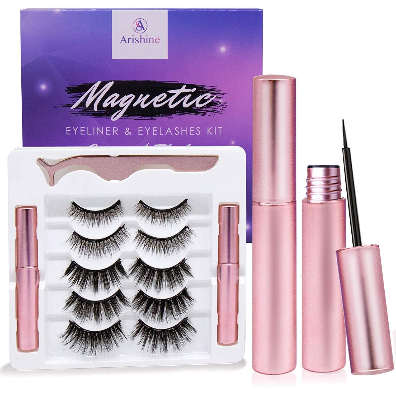 Arishine-magnetic-eyelash-and-liner-kit-amazon