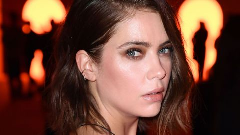 Ashley Benson Just Took the Suit Dress to a Whole New Level at the Balmain PFW Show | StyleCaster