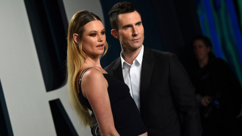 Adam Levine's Wife Responded to Those Pregnancy Rumors in a Subtle Way | StyleCaster