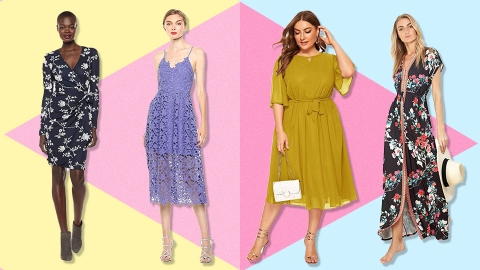Semi-Formal Wedding Guest Dresses You'll Actually Wear Again | StyleCaster
