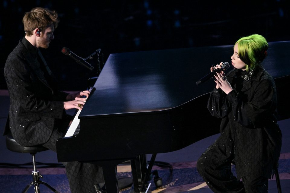 Billie Eilish and FINNEAS.