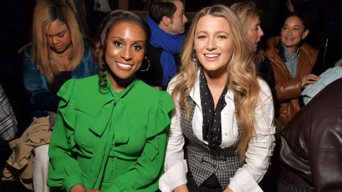 Blake Lively and Issa Rae Looked Gorgeous Sitting Front Frow at the Michael Kors NYFW Show | StyleCaster