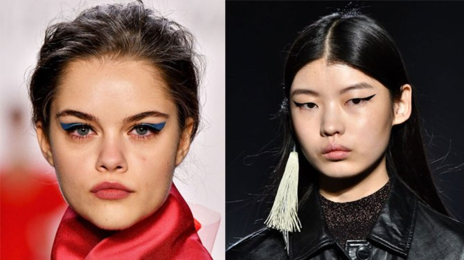 fall makeup trends 2020 cat eye Pick a Side, Because Theres No Middle Ground for Fall Makeup Trends