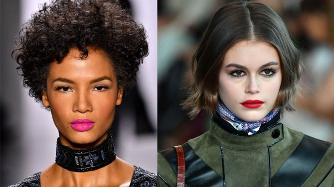 fall makeup trends 2020 statement lip Pick a Side, Because Theres No Middle Ground for Fall Makeup Trends