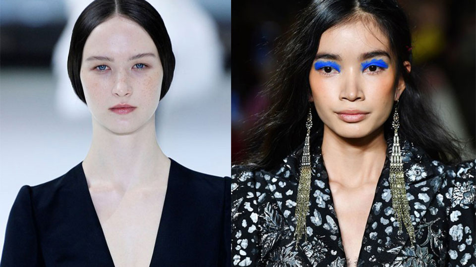 Pick a Side, Because There's No Middle Ground for Fall Makeup Trends