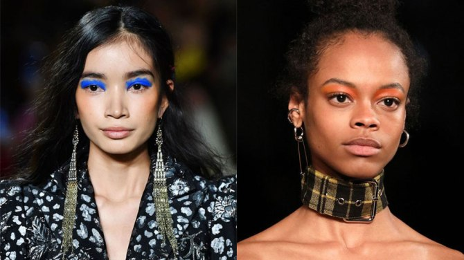 fall makeup trends eye color Pick a Side, Because Theres No Middle Ground for Fall Makeup Trends