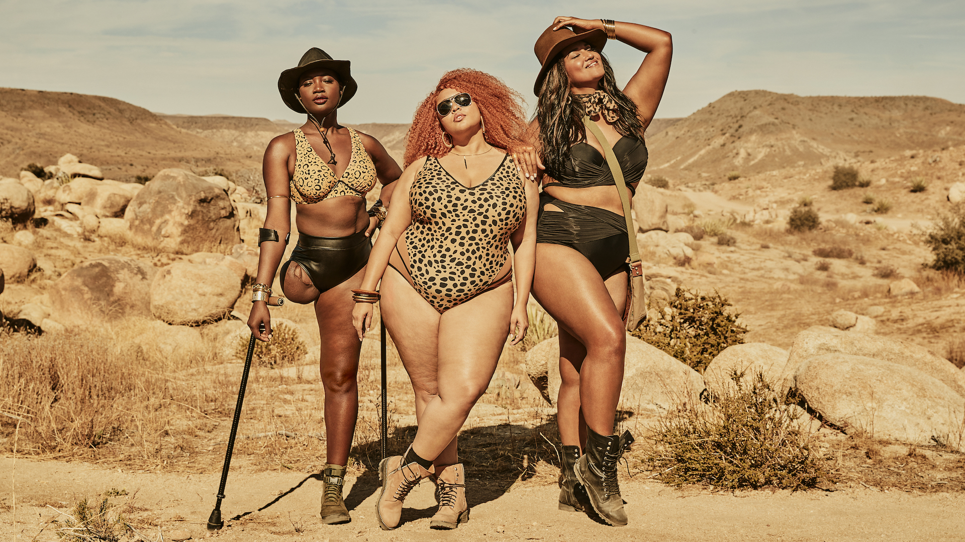 The New GabiFresh x Swimsuits for All Collection Is Desert-Inspired—and Just As Hot