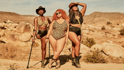The New GabiFresh x Swimsuits for All Collection Is Desert-Inspired—and Just As Hot | StyleCaster