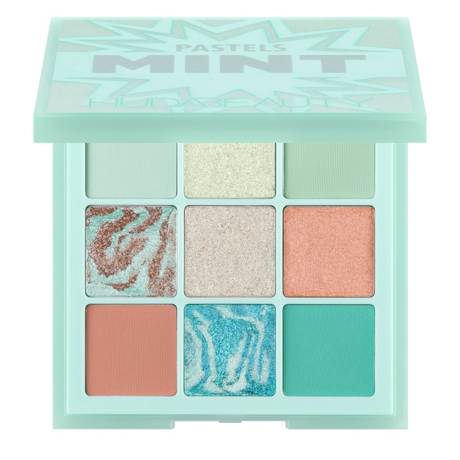huda beauty pastels mint