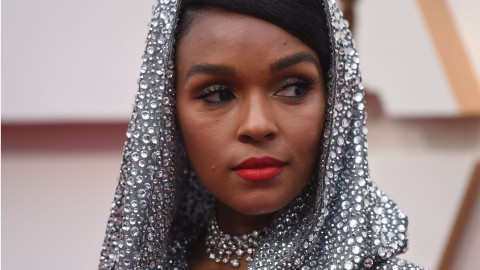Janelle Monae's Dramatic Oscars Look Is Basically a Disco Ball for the Red Carpet | StyleCaster
