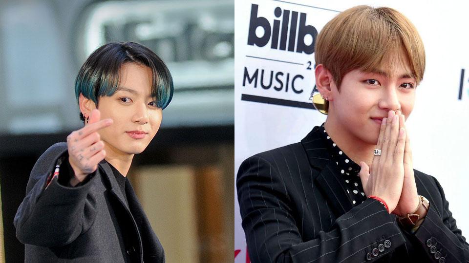 BTS' Jungkook & V