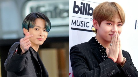 The Meanings Behind BTS' V & Jungkook's 'ON' Tattoos Are Fascinating   StyleCaster