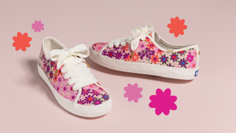 The Newest Keds x Kate Spade Drop Is the Spring Refresh Your Shoe Collection Needs | StyleCaster