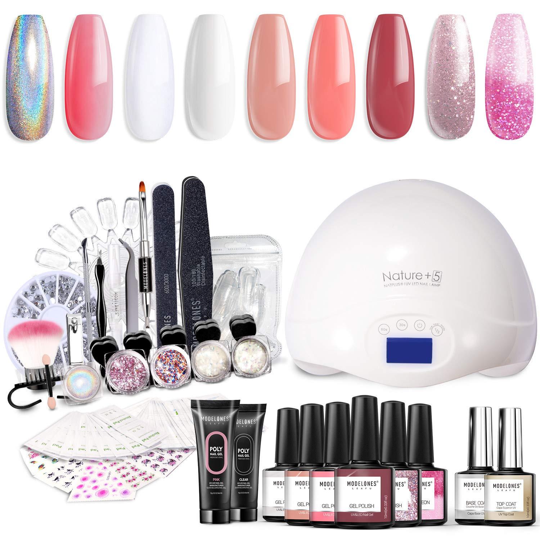 Modelones-Gel-nail-polish-starter-kit-amazon