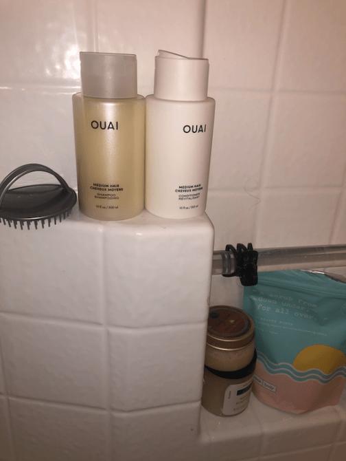 ouai daily care bathroom
