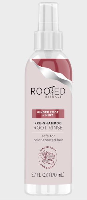 rooted rituals pre shampoo