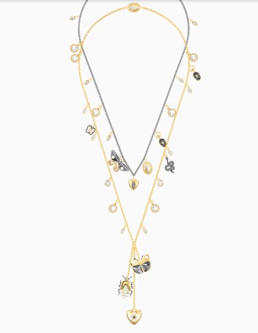 bijoux 2020 tendances collier à breloques swarovski