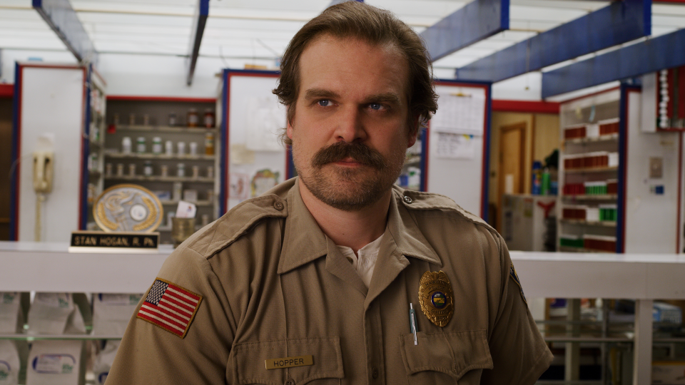 Stranger Things, Season 3: Hopper