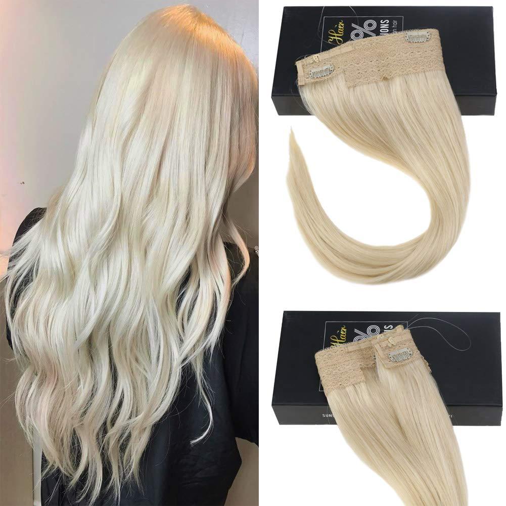 Sunny-platinum-blonde-hair-extensions-amazon