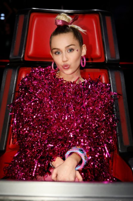 The Voice: Miley Cyrus