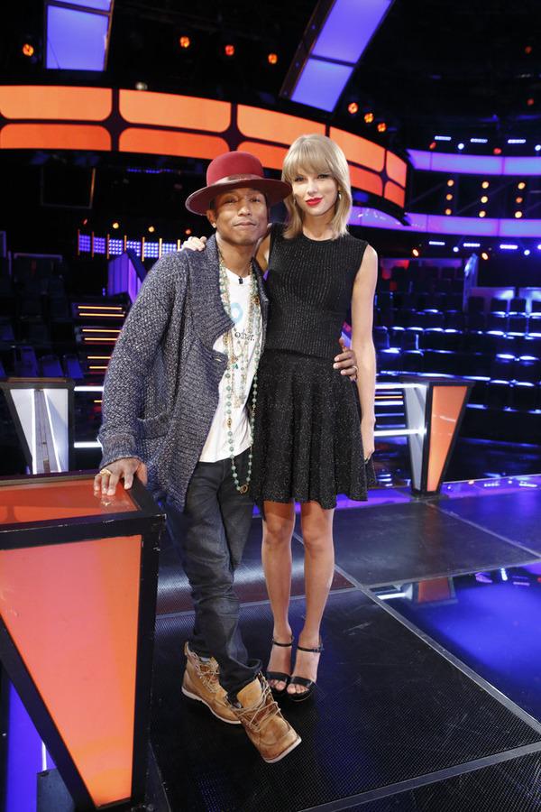 The Voice: Pharrell & Taylor Swift