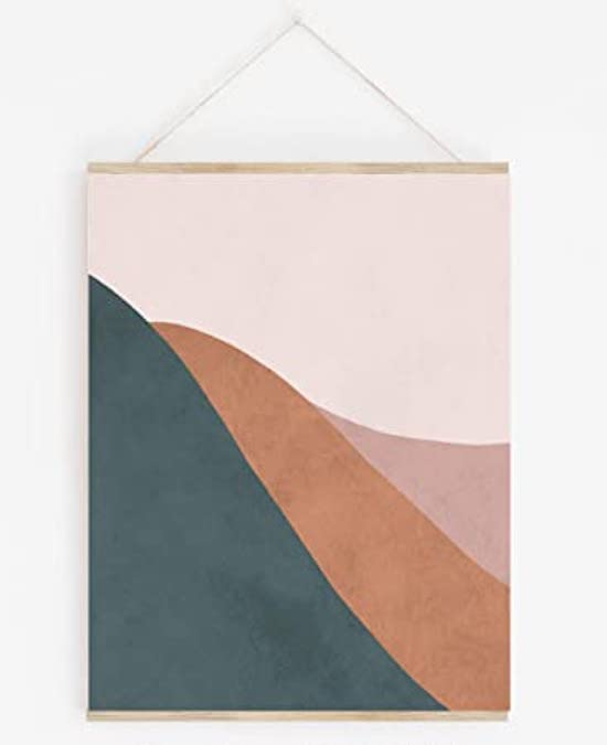 STYLECASTER | Cheap Gifts for Friends | abstract art print
