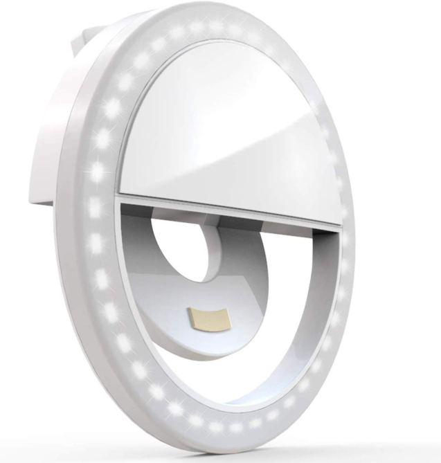 STYLECASTER   clip on selfie ring light Leo April horoscope 2020