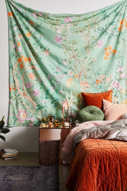 UO Urban Outfitters Tapestry 127 x 127 cm new with tag  #62