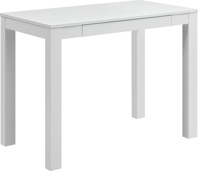 STYLECASTER | home office decor trends white desk