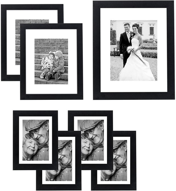 STYLECASTER | home office decor trends monochrome frames
