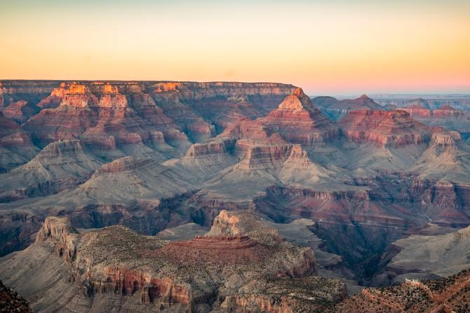 STYLECASTER | best zoom backgrounds Grand Canyon