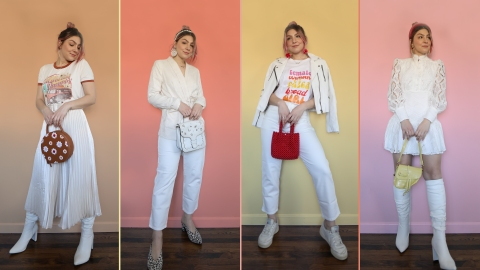 All-White Outfits to Inspire the Minimalist In You | StyleCaster
