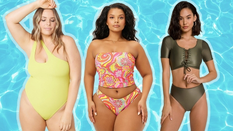 10 Swimsuits That Won't Make You Hate Having Big Boobs | StyleCaster