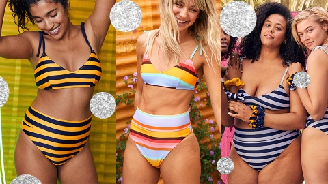 This Bikini Looks Amazing On Wide Hips & It Comes In 20 Colors | StyleCaster
