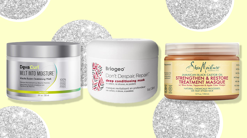 9 Curly Hair Masks to Slather Your Strands in While You Work