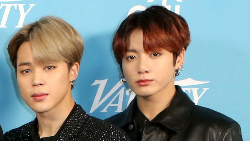 BTS Jimin and Jungkook.