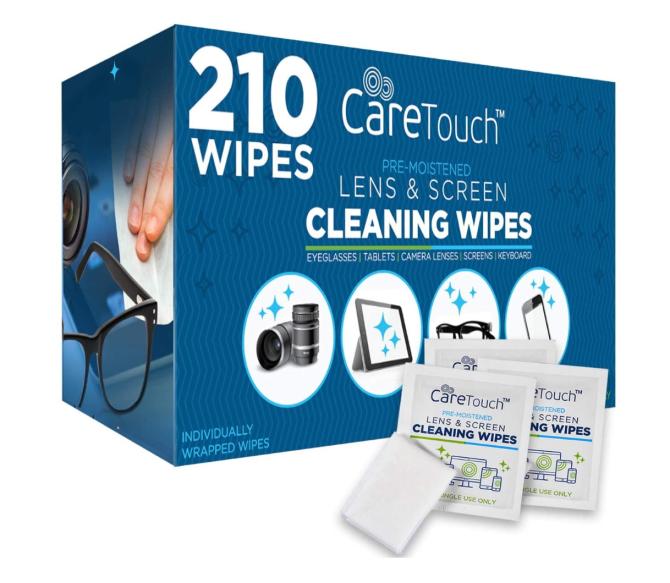 Maramice za čišćenje objektiva Care Touch
