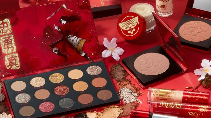 """ColourPop's """"Mulan"""" Collection Will Bring Honor to Us All"""